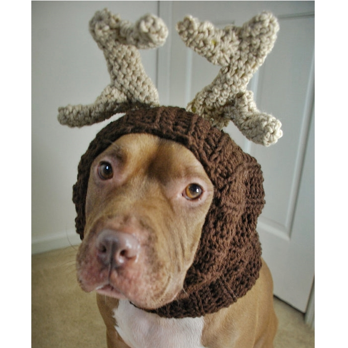 Reindeer Crochet Snood