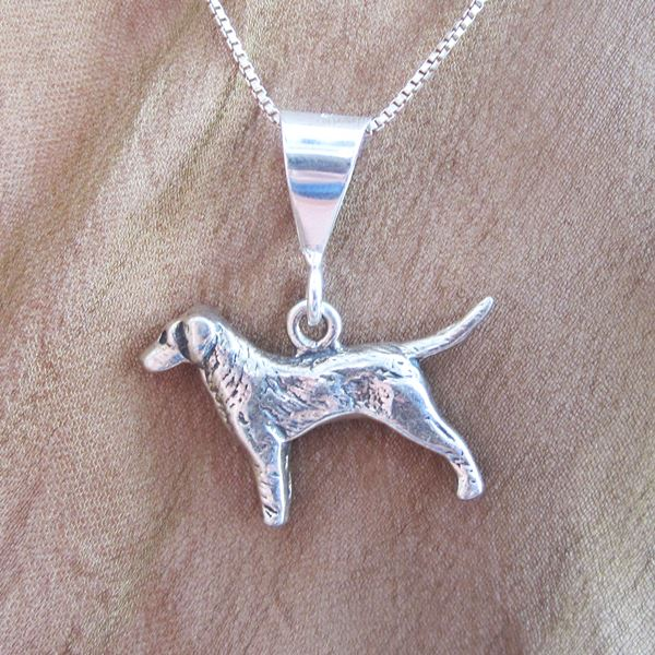 Labrador Large Pendant Charm and Necklace