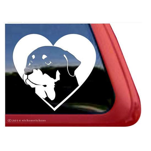 Rottweiler Love Large Decal