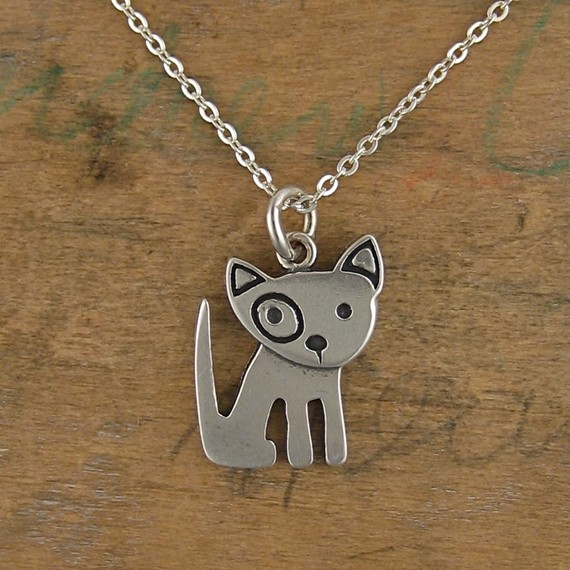 Spot Mini Pibble Sterling Silver Necklace