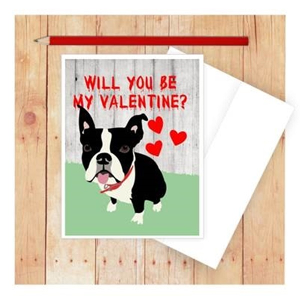 Will You Be My Valentine Note Card