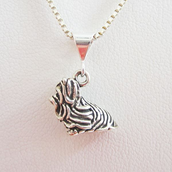 Yorkshire Terrier Large Pendant Charm and Necklace