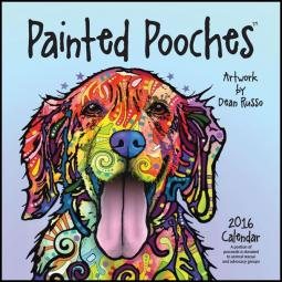 2016 Painted Pooches Dean Russo Calendar