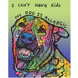 Allergic Indelible Dog Dean Russo Print