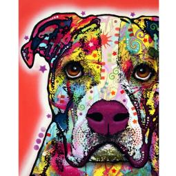 American Bulldog Print by Dean Russo - ONLY 1 LEFT