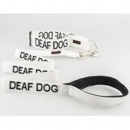 Deaf Dog Collar and Leash Set
