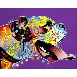 Happy Boxer Print by Dean Russo - Discontinued