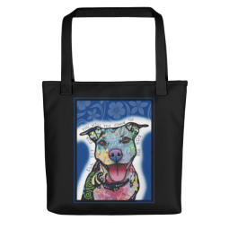 I'll Sit For You Indelible Dog Tote Bag