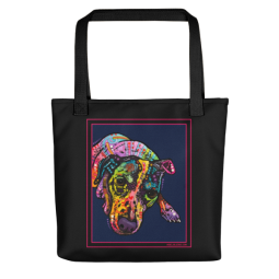 Indelible Jack Indelible Dog Tote Bag