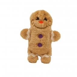 Invincibles Mini Gingerbread Man Christmas Dog Toy