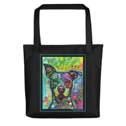 It's Only Love Indelible Dog Tote Bag