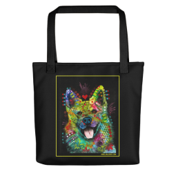 Lovelight Indelible Dog Tote Bag