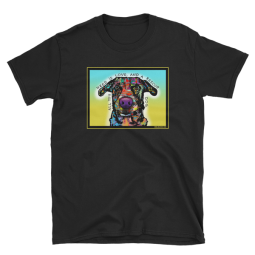 Love and Rescue Indelible Dog T-Shirt