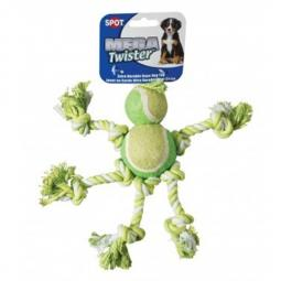Mega Twister Double Tennis Man Dog Toy and Tug