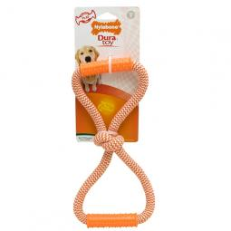 Nylabone DuraToy Play Rope Double Loop Tug