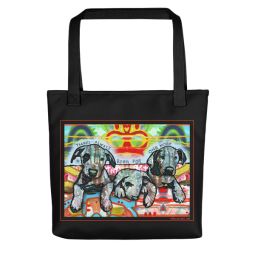 One More Indelible Dog Tote Bag
