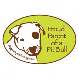 Proud Parent of a Pit Bull Bumper Sticker