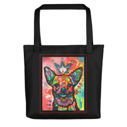 Royal Chi Indelible Dog Tote Bag