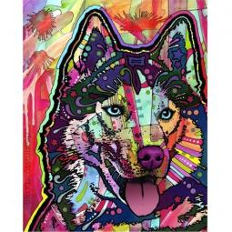 Siberian Husky Print by Dean Russo - ONLY 1 LEFT