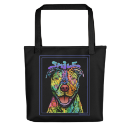 That Smile Indelible Dog Tote Bag