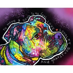 Soul Pit Bull Print by Dean Russo - Discontinued