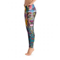 The Unmistakable Pit Bull Dean Russo Ladies' Leggings