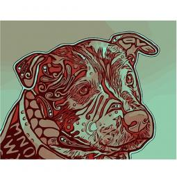 Above All Indelible Dog Dean Russo Print