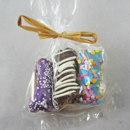5 Mini Bones Dog Treat Gift Bag