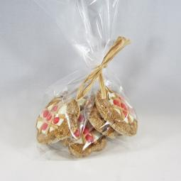 5 Small Cherry Pie Dog Treat Gift Bag