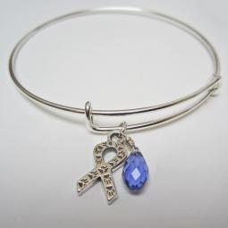 "Animal Awareness Stackable Bangle Bracelet (2.5""-3"")"