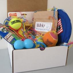 Happy Barkday Dog-Gone Goodie Gift Box