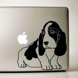 Basset Hound Large Decal