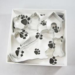 Basset Hound Six Piece Cookie Cutter Set + a Letter!
