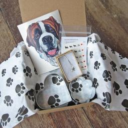 Saint Bernard Lover Mini Gift Box
