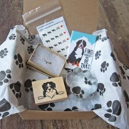 Bernese Mountain Dog Lover Mini Gift Box