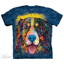 Bernese Mountain Dog Dean Russo Unisex T-Shirt - Discontinued