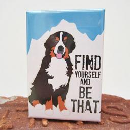 Bernese Mountain Dog Art Magnet
