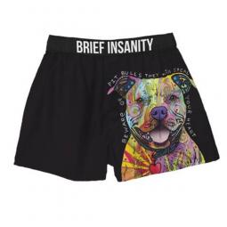 Beware of Pit Bulls Dean Russo Boxer Shorts