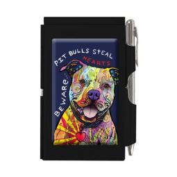 Beware of Pit Bulls Slim Notepad and Pen