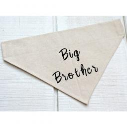 Big Brother Canvas Dog Bandana