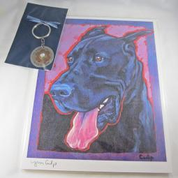 Black Great Dane Lovers Gift Duo
