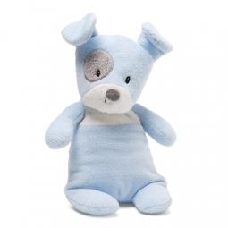 "Blue Spotto with Rattle 9"" Gund Stuffed Animal"