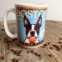 Boston Terrier Coffee Company Mug
