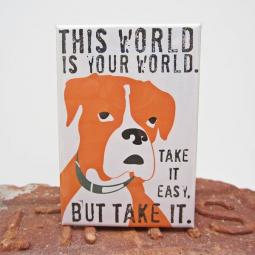 Boxer World Art Magnet