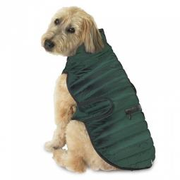 L, XL Green Brunswick Puffer Dog Coat