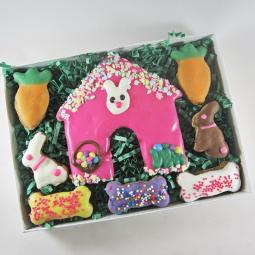 Bunny House Easter Dog Treat Assortment