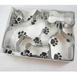 Collie Happy Barkday Cookie Cutter Set + a Letter!