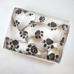 Collie Woof Five Piece Cookie Cutter Set + a Letter!