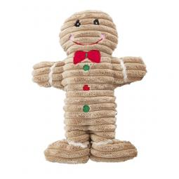 Ethical Products Holiday Corduroy Gingerbread Man Dog Toy