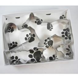 Corgi 2 Woof Five Piece Cookie Cutter Set + a Letter!